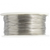 Art Wire 28g Lead/nickel Safe Tinned Copper Plated Silver